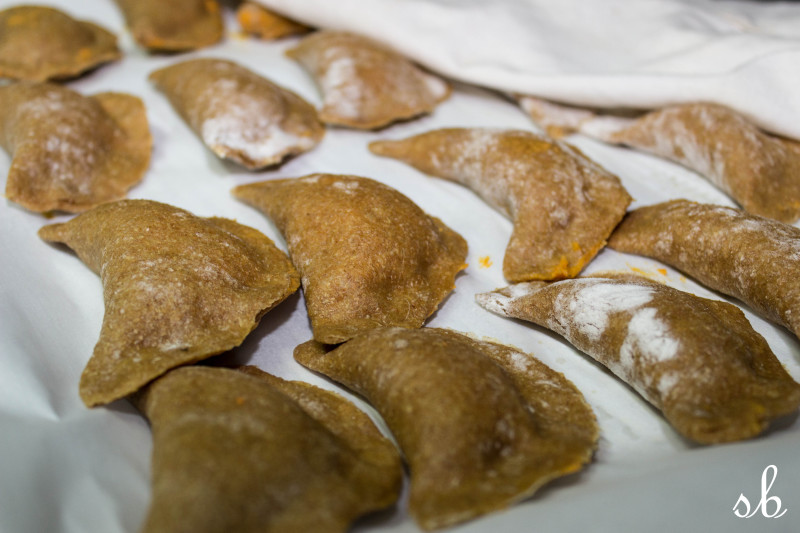 Caramelized Sweet Potato Pierogi