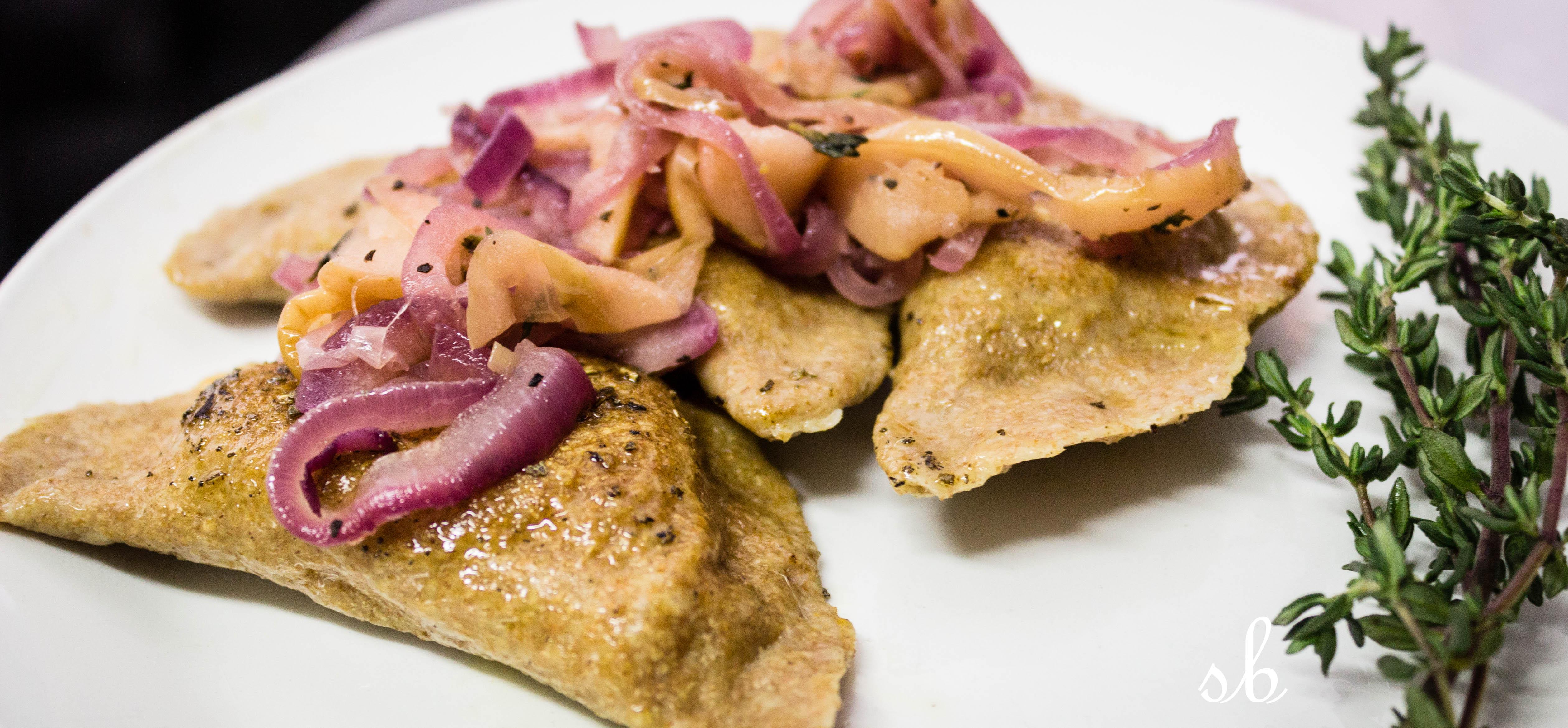 Caramelized Sweet Potato Pierogi