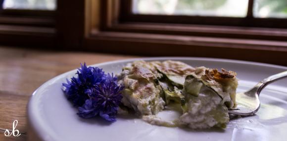vegan summer squash gratin