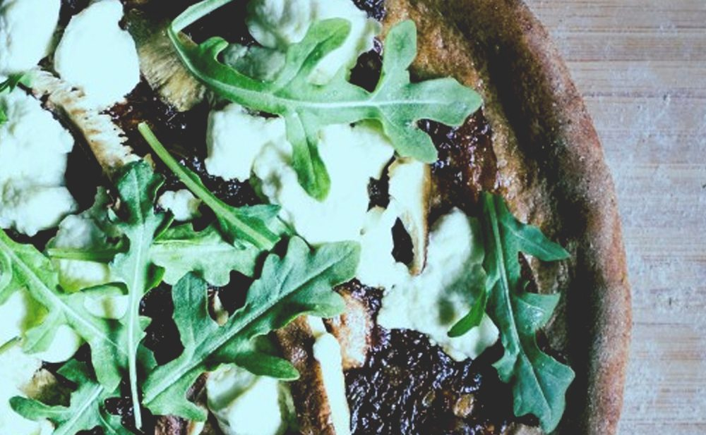 Meatless Monday :Fun-guy Pizza | SoulBeet