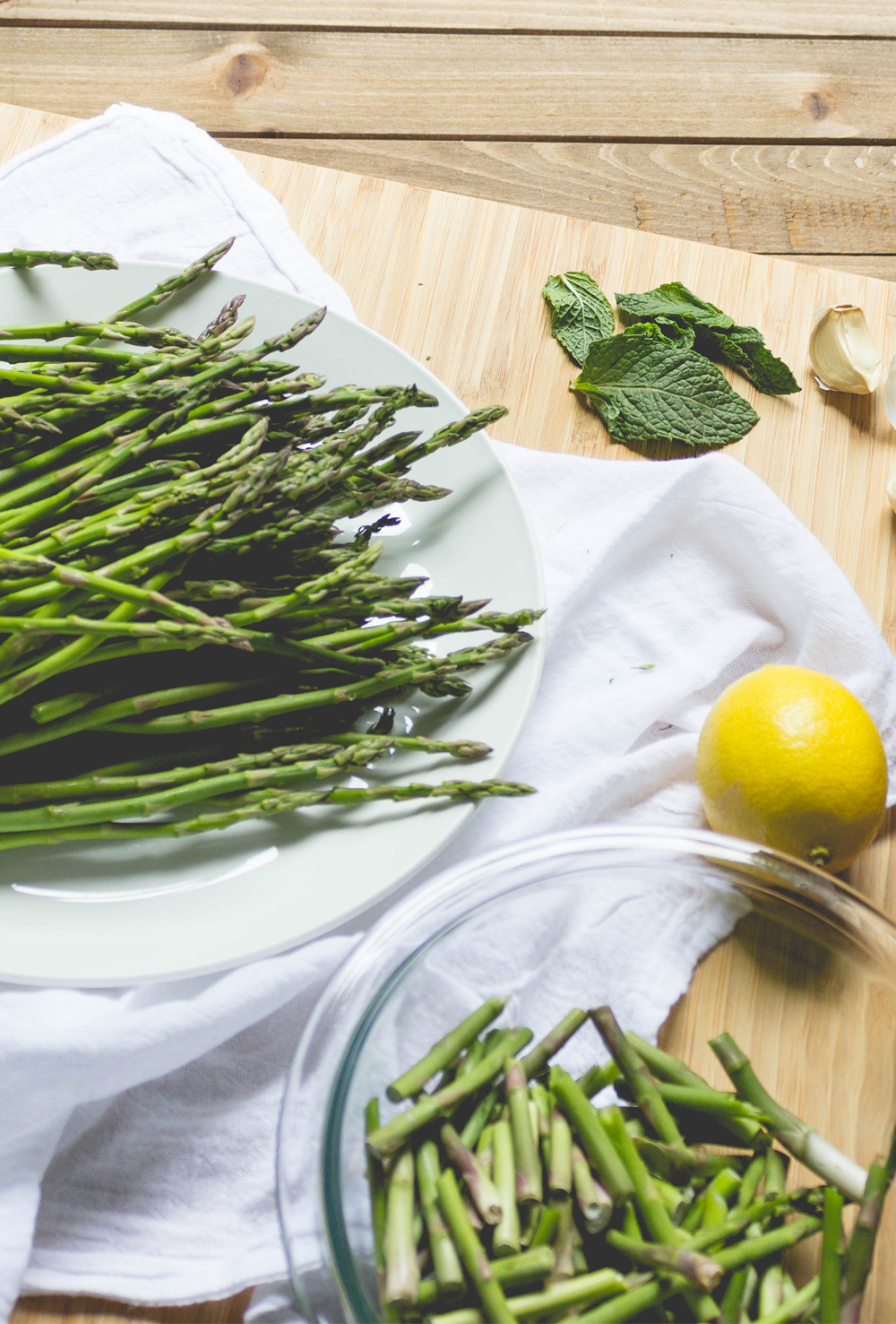 Meatless Monday: Asparagus with Mint and Lemon | SoulBeet